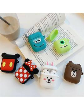 Disney Character Airpods Case With Clip| Airpods Silicone Case | 3d Character Airpods by Etsy