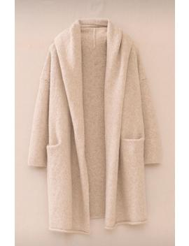 Hooded Knitted Cardigan Autumn Winter Women Woolen Long Knitted Sweater Solid Color Jacket by Ali Express.Com