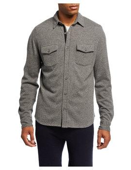 Men's Cashmere Sport Shirt by Vince