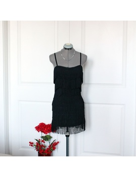 Fringe Flapper Cocktail Dress by Avec