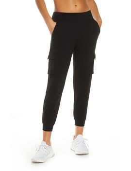 High Waist Crop Jogger Pants by Alo
