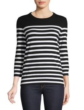 Striped Pullover by Lord & Taylor