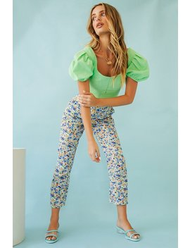 A Day In Italy Pants // Floral by Vergegirl