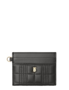 Sandon Quilted Leather Card Case by Burberry