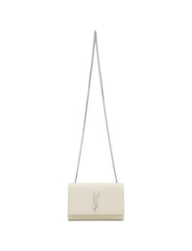 Off White Small Kate Chain Bag by Saint Laurent