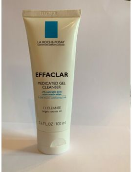 La Roche Posay Effaclar Medicated Gel Cleanser 3.4oz by La Roche Posay
