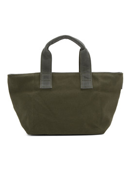 Green Porter Edition Pouch Tote by N.Hoolywood