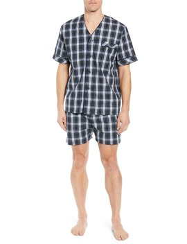 Edward Easy Care Short Pajama Set by Majestic International