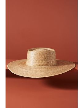 Palma Wide Brim Boater by Lack Of Color