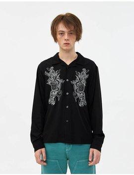 Embroidered Dragon Shirt by Stüssy Stüssy
