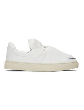 White Knotted Sneakers by Ports 1961