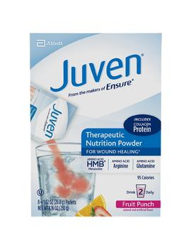 Juven Therapeutic Nutrition Powder Fruit Punch1.02oz X 8 Pack by Walgreens