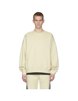Off White Fleece Sweatshirt by Essentials