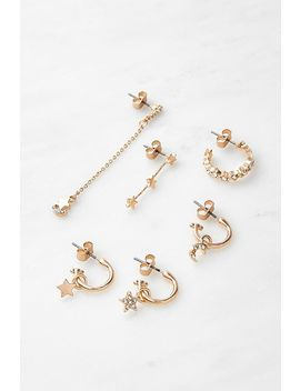 Celestial Earrings Pack by Urban Outfitters