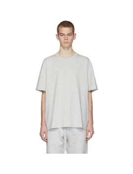Grey Core T Shirt by Essentials