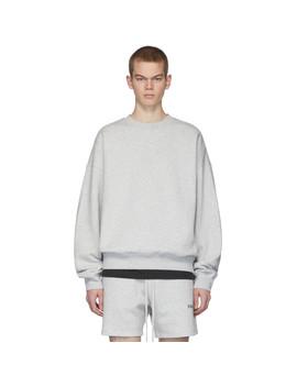 Grey Fleece Sweatshirt by Essentials
