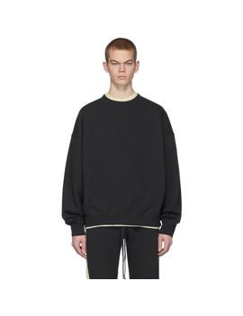 Black Fleece Sweatshirt by Essentials