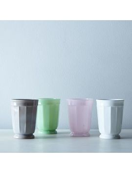 Faceted Glass Tumblers (Set Of 4) by Mosser Glass