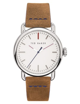 Tomcooa Leather Strap Watch, 40mm by Ted Baker London