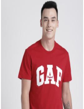 Men's Logo Crewneck T Shirt by Gap