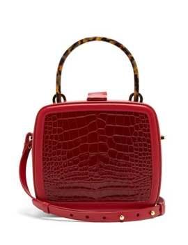 Tunilla Snake Effect Leather Cross Body Bag by Nico Giani
