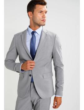 Plain Mens Suit Slim Fit   Anzug by Lindbergh