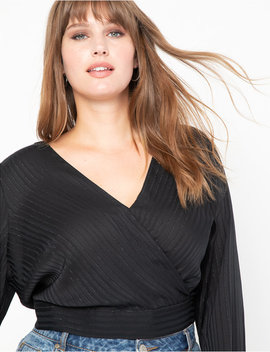 Faux Wrap Top by Eloquii