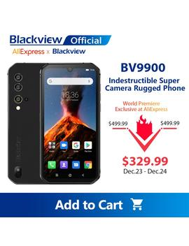 Blackview Bv9900 Helio P90 Octa Core 8 Gb+256 Gb Ip68 Rugged Mobile Phone Android 9.0 48 Mp Quad Rear Camera Nfc Smartphone by Ali Express.Com