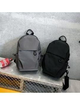 Mulgam   Nylon Sling Bag by Mulgam