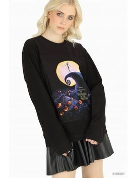 The Nightmare Before Christmas Patch Sweater Bm Fit   Limited by Black Milk