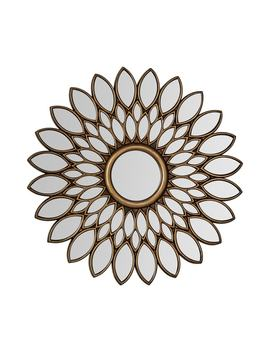 Lyra Wall Mirror, Bronze by Premier