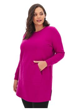 Cotton Sweat Tunic by Simply Be