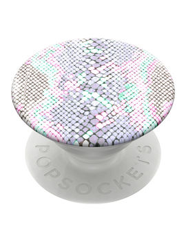 Pop Sockets Swappable Pop Grip   Pastel Snakeskin by Claire's