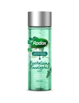 Radox Bath Oil Revitalizing Eucalyptus Scent 200ml by Radox