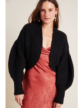Rae Cropped Cardigan by Anthropologie