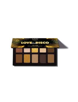 Nyx Professional Makeup Livin Lavish Disco Eyeshadow Palette by Superdrug