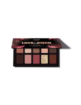Nyx Professional Makeup Rosé & Play Disco Eyeshadow Palette by Superdrug