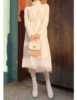 Shining Winter Knit + Dress Set by Chuu