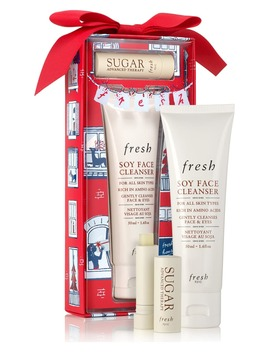 Enchanted Essentials Travel Size Soy Face Cleanser® & Sugar Lip Treatment Set by Fresh®