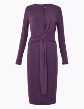 Bodycon Jersey Midi Dress by Marks & Spencer