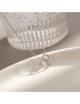 Yanda   Rhinestone Hoop Necklace by Yanda