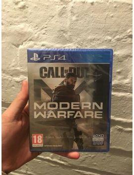 Call Of Duty: Modern Warfare (Play Station 4, 2019) by Ebay Seller