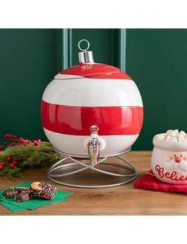 New!Christmas Ornament Beverage Dispenser by Kirkland's