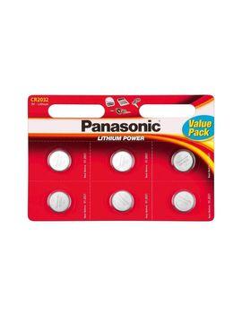 Baterie Panasonic Cr2032 3 V Litiu Cr 2032 L/6 Bp Value Pack, 6 Baterii by Panasonic