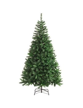 Mixed Promo 7ft Green Pine Artificial Christmas Tree With Stand by The Seasonal Aisle