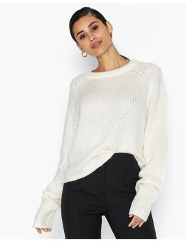 Cosy Crew Neck Roll Hem Jumper by Missguided