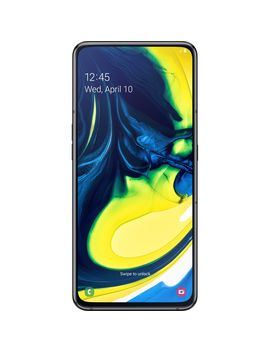 Telefon Mobil Samsung Galaxy A80, Dual Sim, 128 Gb, 8 Gb Ram, 4 G, Phantom Black by Samsung