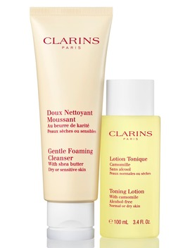 Cleanse & Refresh For Dry Or Sensitive Skin Set by Clarins
