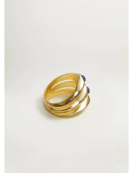 Ring Mit Halbedelstein by Mango