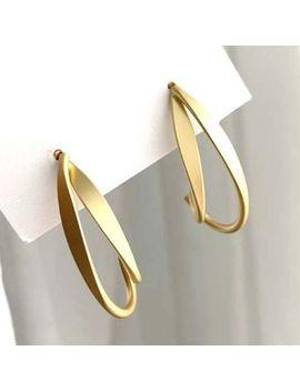 True Glam   Matte Alloy Dangle Earring by True Glam